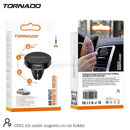 Автодержатель для телефона TORNADO CH11 magnetic