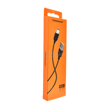 USB-C TORNADO C1 (2.1A/1.2m) Type-C black