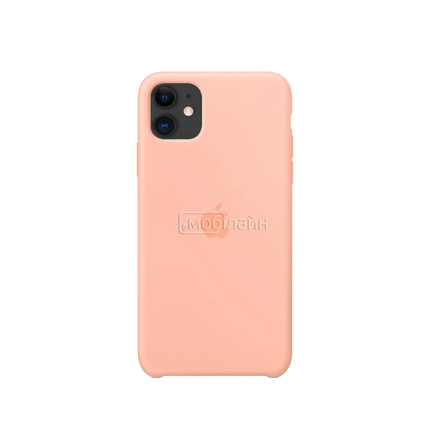 Apple iPhone  11 grapefruit Silicone LQ