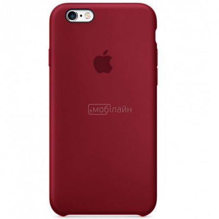 Apple iPhone 6/6S maroon Silicone LQ