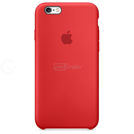 Apple iPhone 6/6S red Silicone LQ