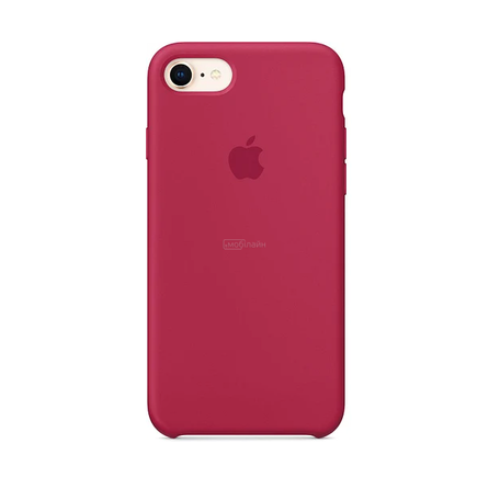 Apple iPhone 6/6S rose red Silicone LQ