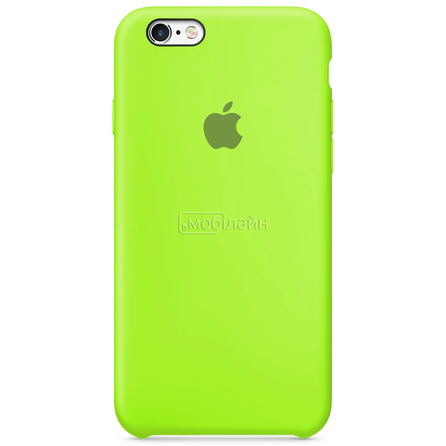Apple iPhone 6/6S shiny green Silicone LQ
