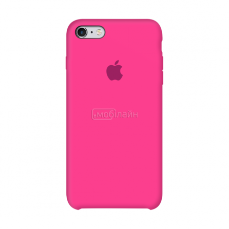 Apple iPhone 6/6S shiny pink Silicone LQ
