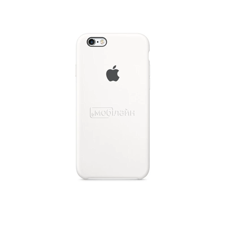 Apple iPhone 6/6S white Silicone LQ