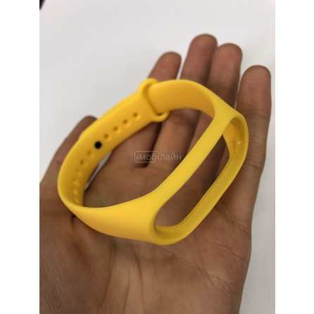 Ремешок Xiaomi Mi Band 3/4 skat LQ yellow