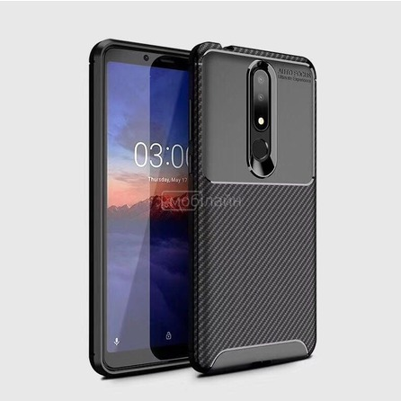 Накладка CARBON Xiaomi Note 10 black